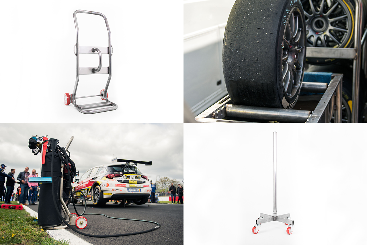 Milltek's Motorsport Pit & Paddock Equipment