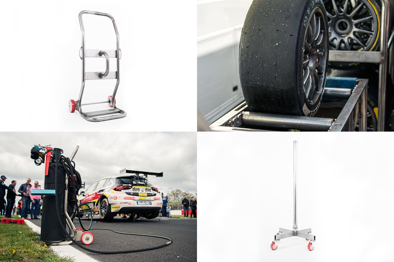Milltek's Motorsport Pit & Paddock Equipment