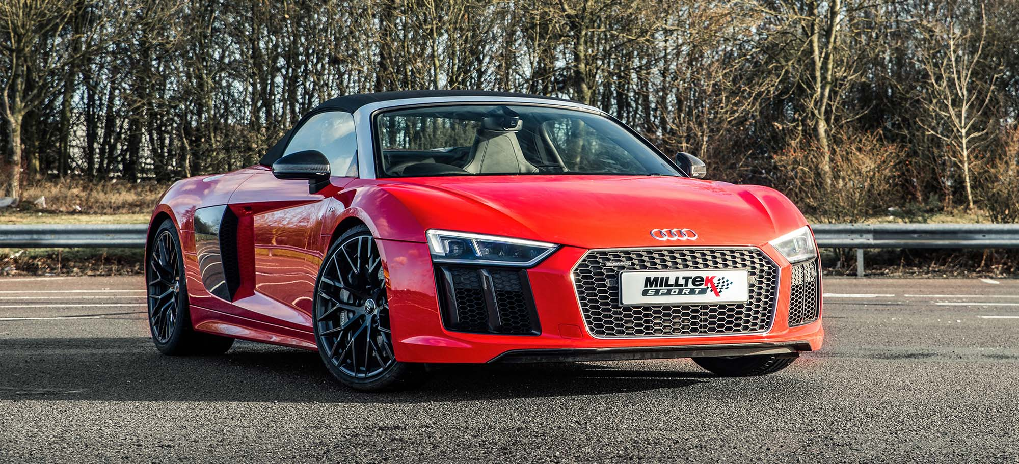 Milltek Sport Unveils New Cat-Back Exhaust For Audi R8 Plus (Spyder and Coupe)