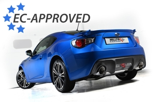 GT86 / BRZ / FR-S now with E-Mark