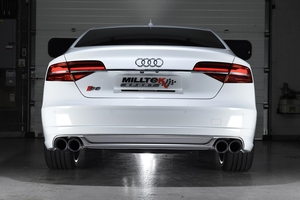 Audi S8 4.0 TFSI Performance Exhaust