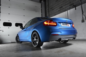 F22 BMW M235i Performance Exhaust