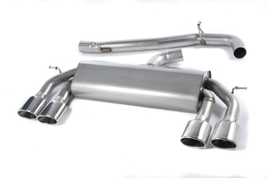VW Golf R Mk7 Race Exhaust System