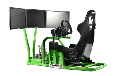 Milltek Innovation New Racing Simulator Frame