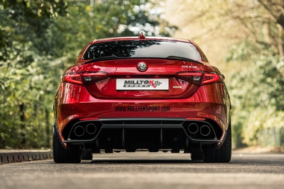 Alfa Romeo Giulia Quadrifoglio 2.9L V6 Bi-Turbo Performance Exhaust Systems Now Available