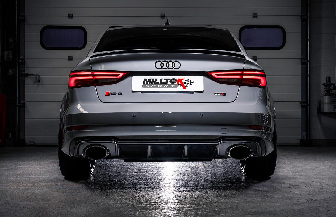 Milltek Udstødninger til Audi RS3 4d Sedan (8V MQB)