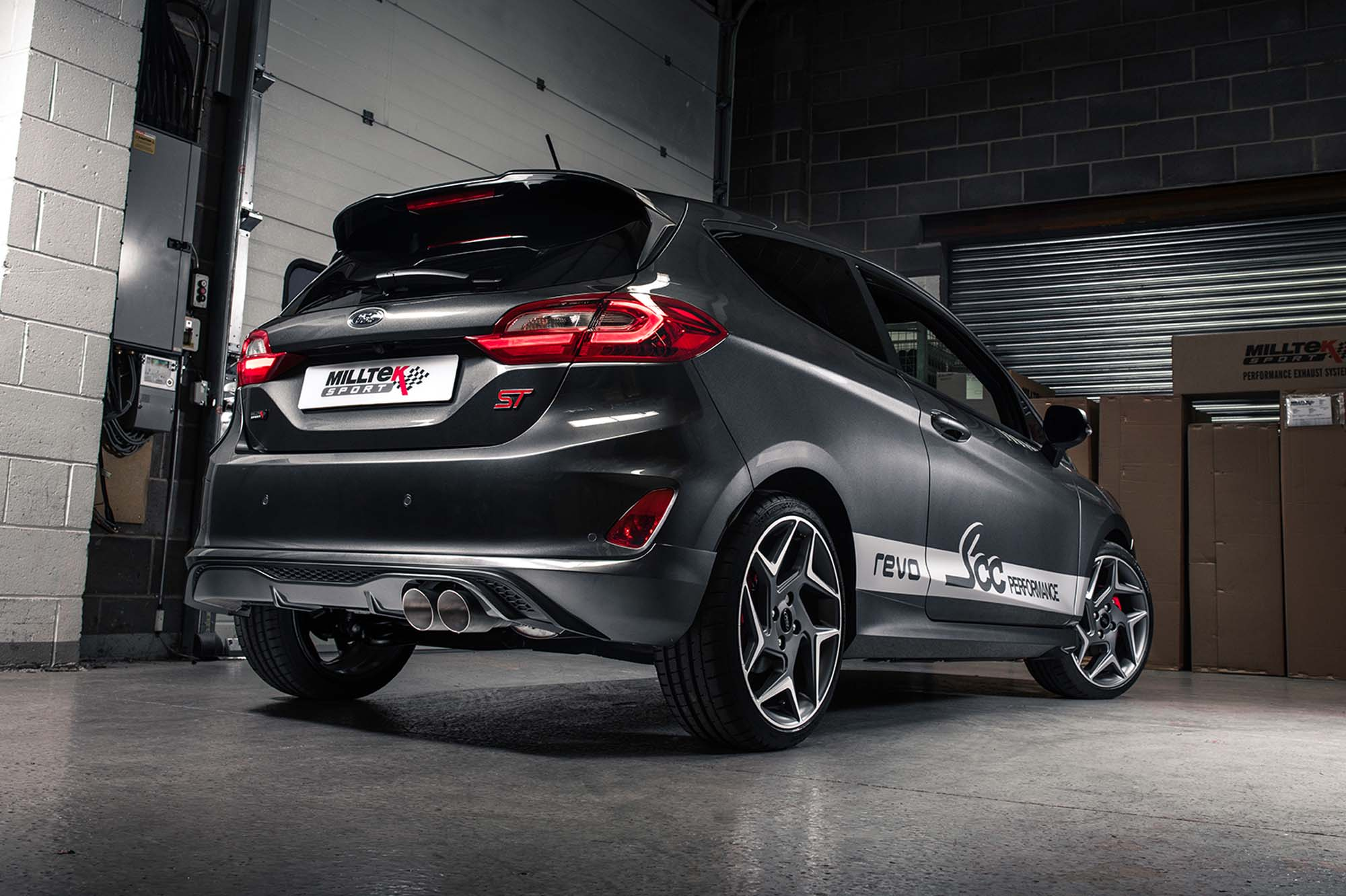 Milltek Sport Unveils New GPF-Back Exhaust For Ford Fiesta ST MK8 1.5L EcoBoost 200PS
