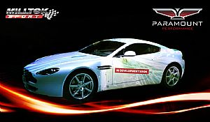 Aston Martin V8 Vantage also enters Milltek Workshop!
