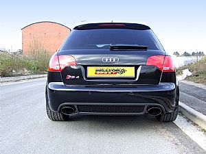 New Black Tips for Audi RS4 V8