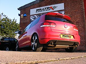 VW Golf GTi Mk6 exhaust ready to go!