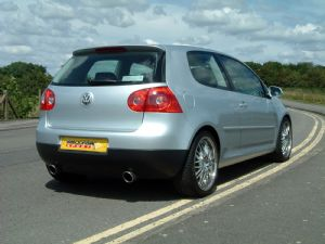 Dual-exit R32-style exhaust for all Golf MkV models
