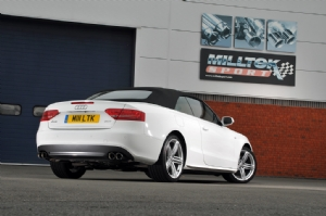 Audi A5 Cabriolet exhaust details available