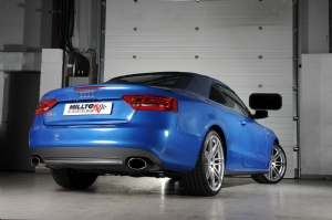 Audi S5 Cabrio exhaust preview