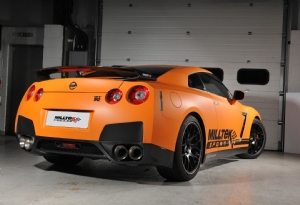 Titanium trims for Nissan GT-R R35