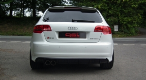 Audi RS3 performance exhaust