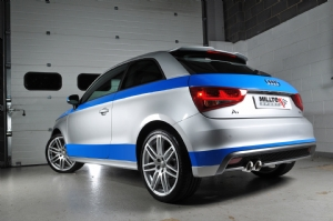 Audi A1 gets full Milltek exhaust system